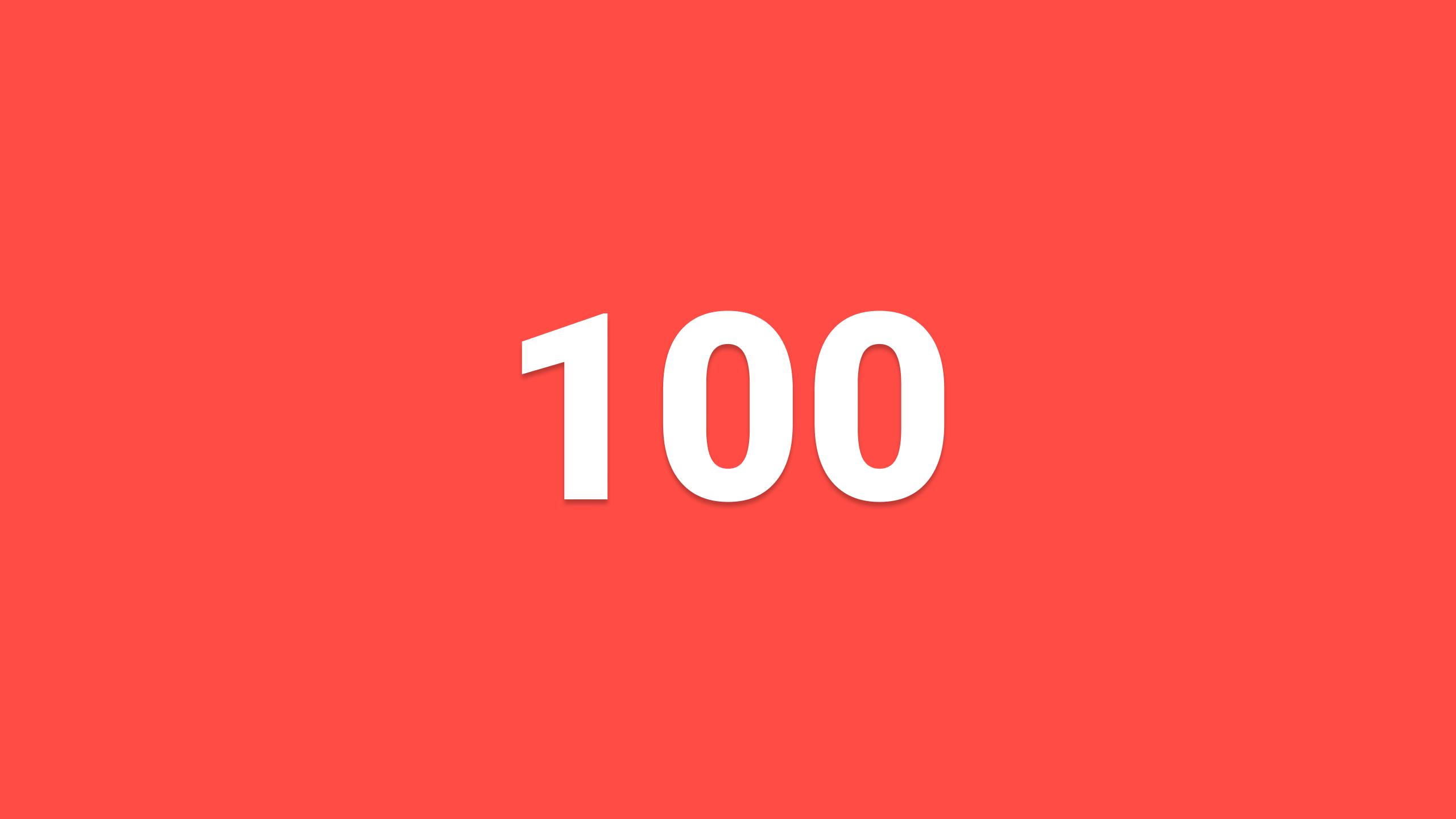 feedback-friday-100