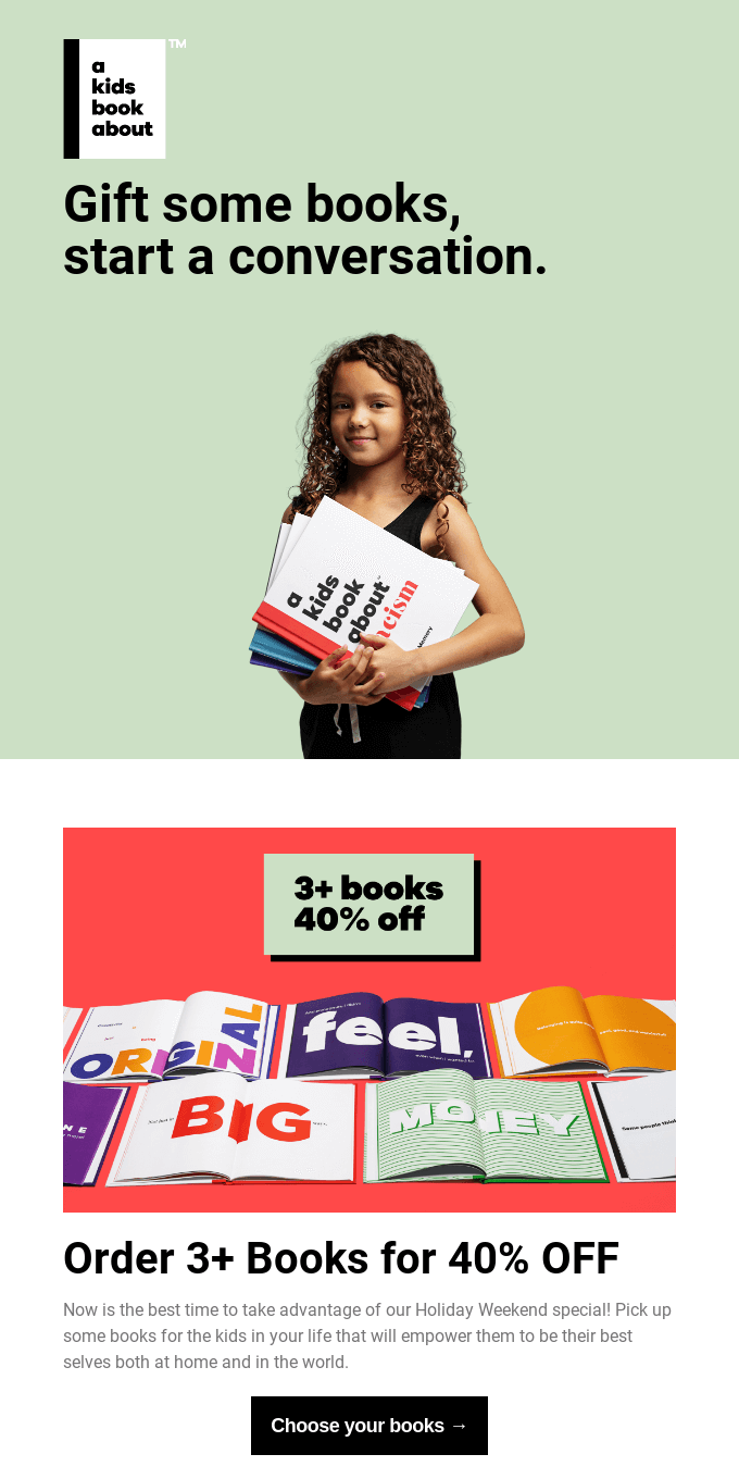 📕 🎁 Get 3 books for 40% OFF! 🎁 📕