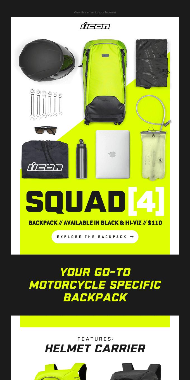 🚨 New Backpack Alert // The Squad [4] Backpack