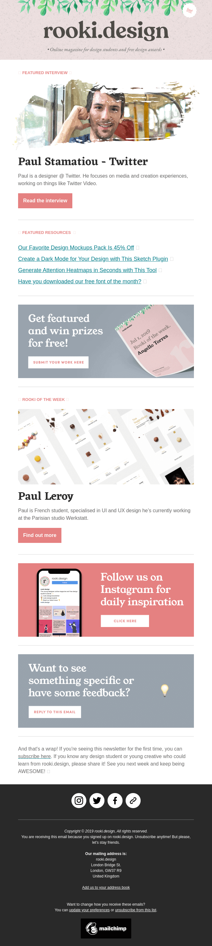 🔥 Paul Stamatiou, our favourite mockups pack & more