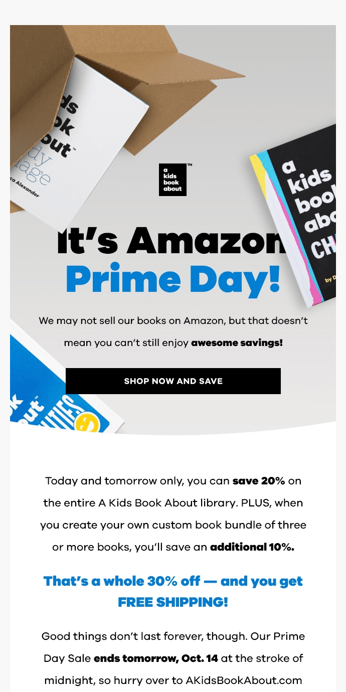 🎉 Prime Day Sale! 🎉 Save Up to 30% on Everything!