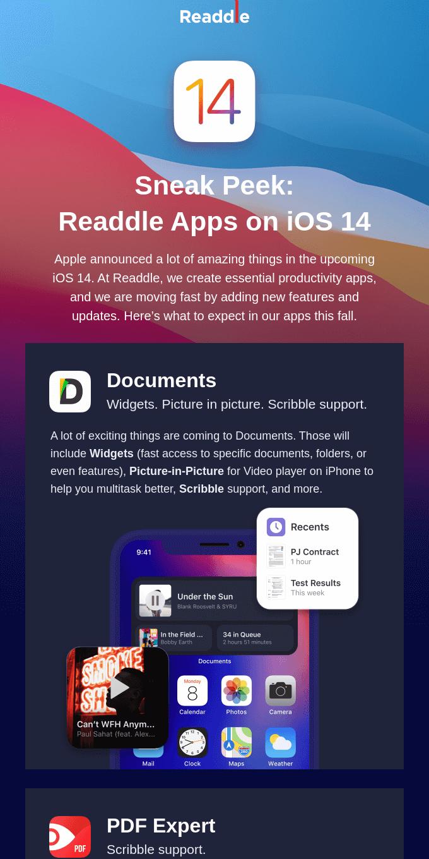 🚀 Readdle apps iOS 14 Sneak Peek