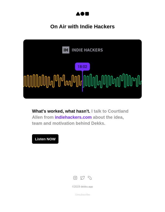🎙 Real Talk on IH Podcast