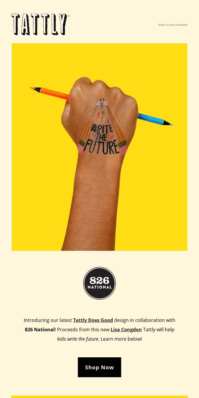 ✏ Write the Future