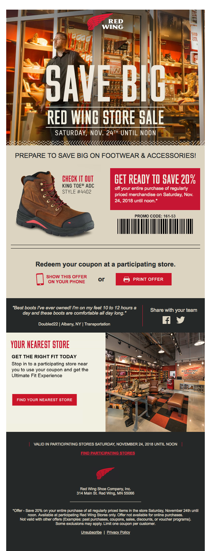 Coupon Emails | Really Good Emails