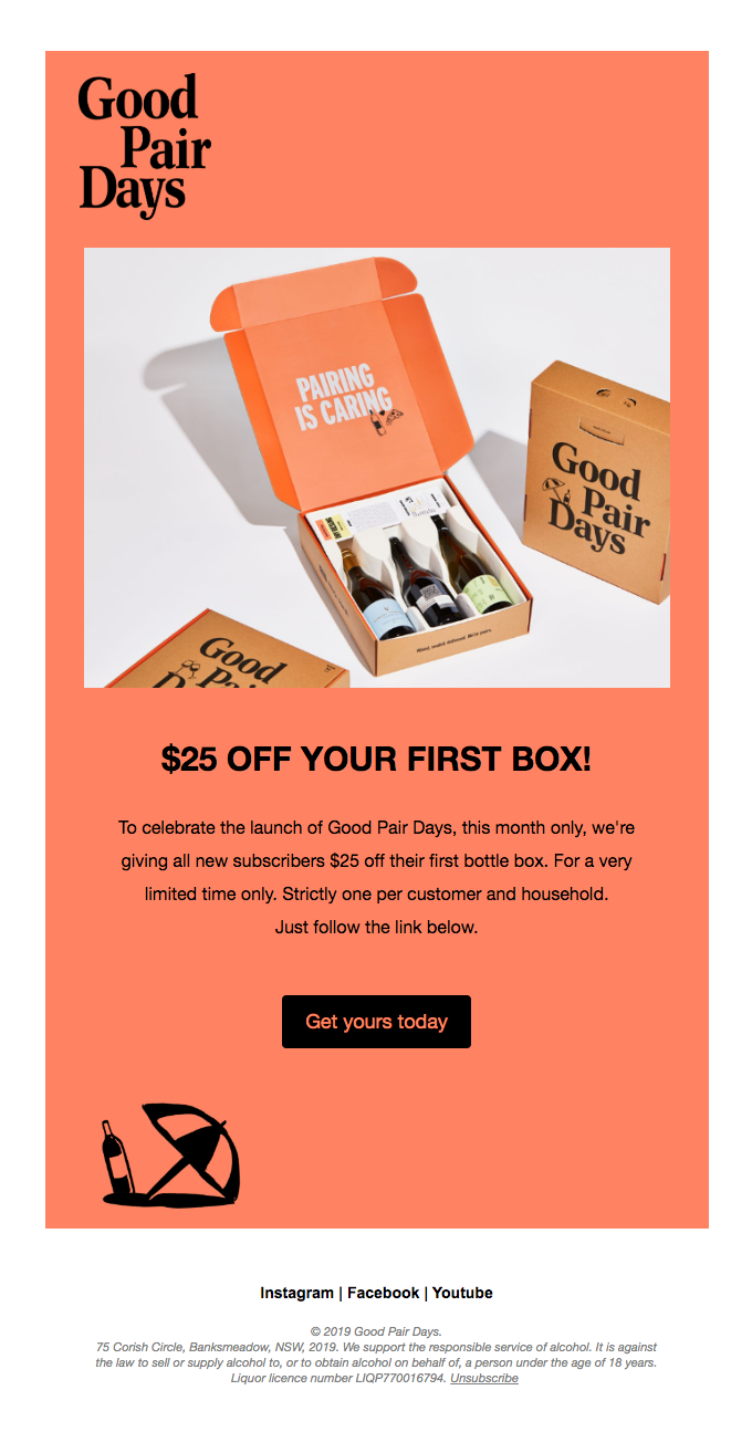 $25 Off Your First box!