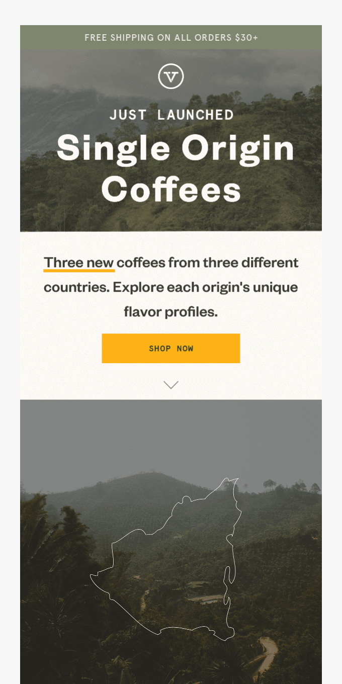 3 New Coffees, 3 Different Countries