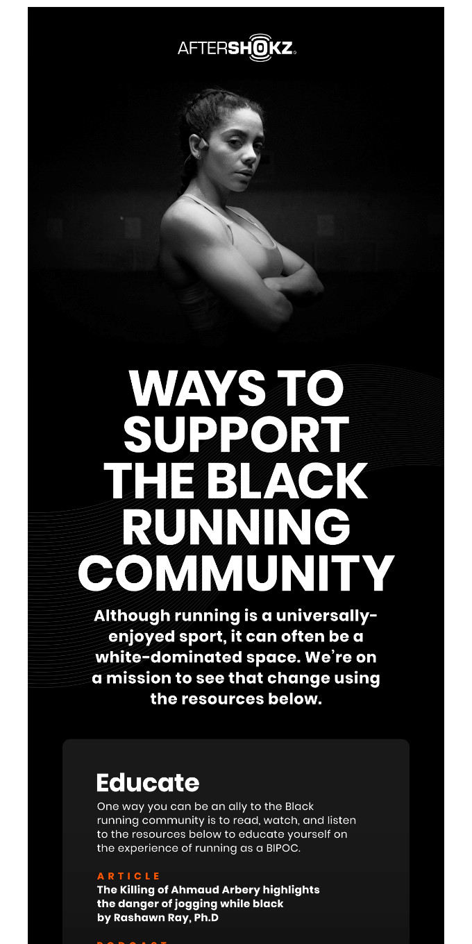 3 Ways To Support Black Runners 🤝
