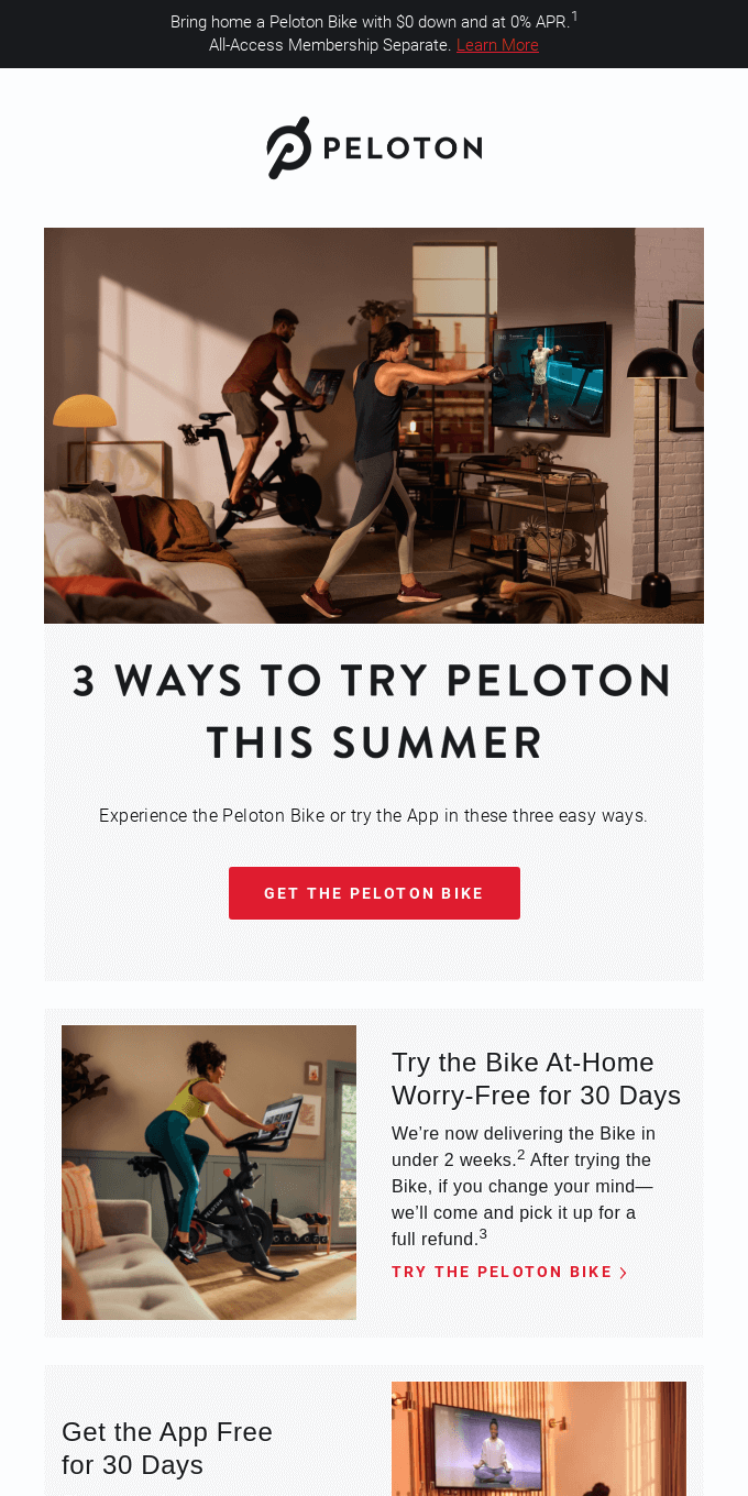 3 Ways to Try Peloton Commitment Free