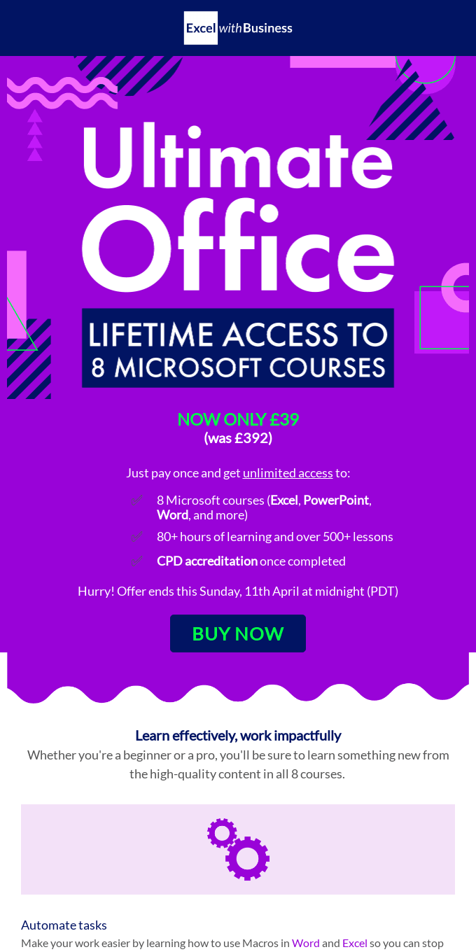 8 Microsoft courses. Unlimited access. All for just US$49.