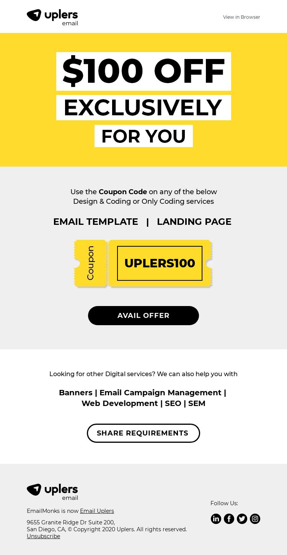 A $100 off! Say whaaaaa?