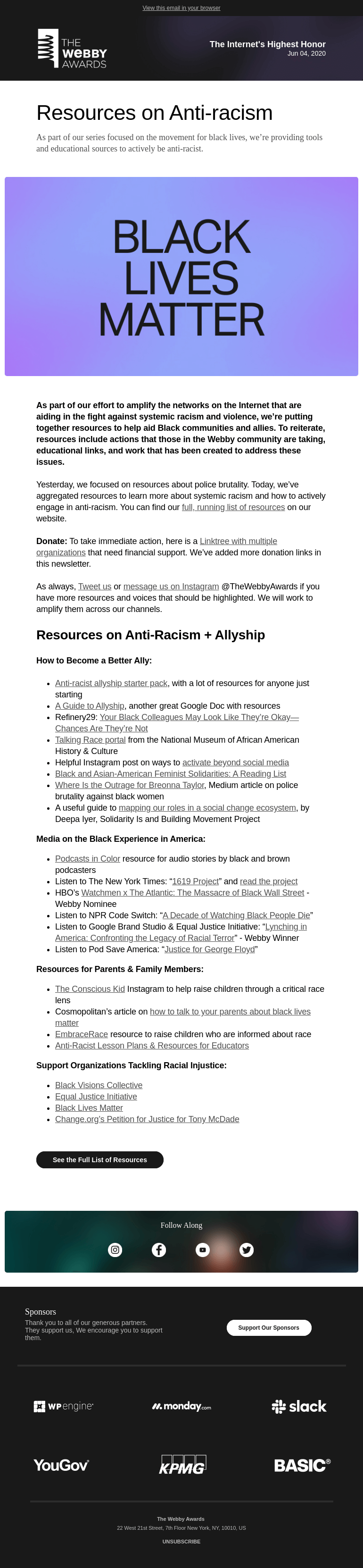A collection of anti-racism resources, part two of our series