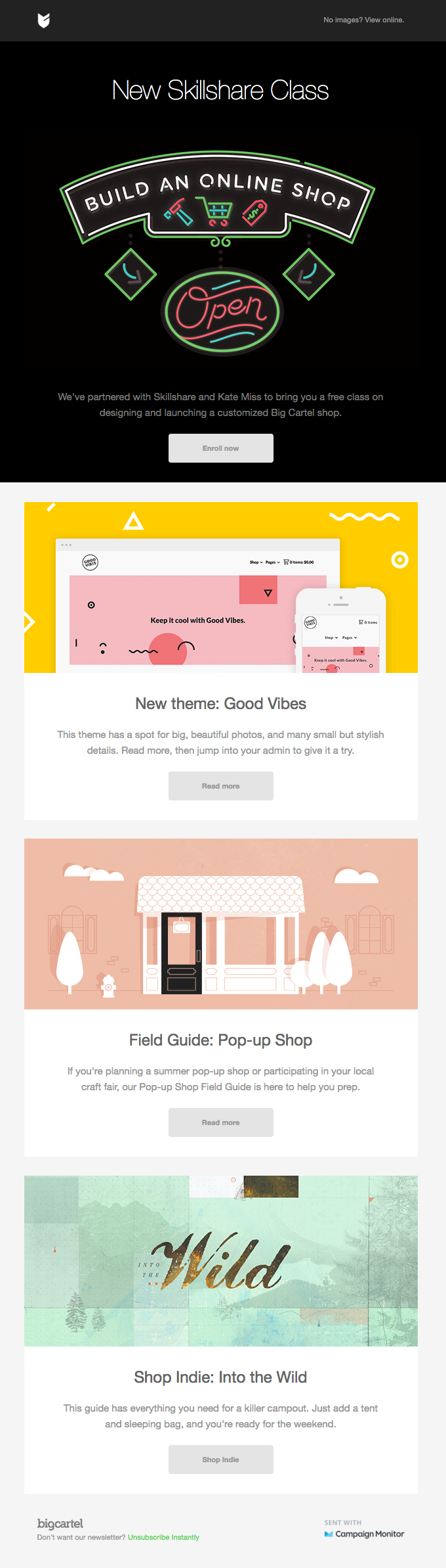 A free Skillshare class, a new theme, and more | Really Good