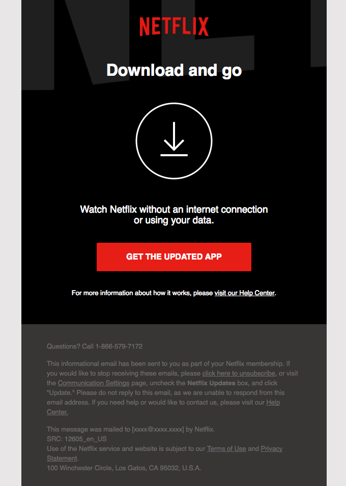 A new way to watch Netflix   Really Good Emails
