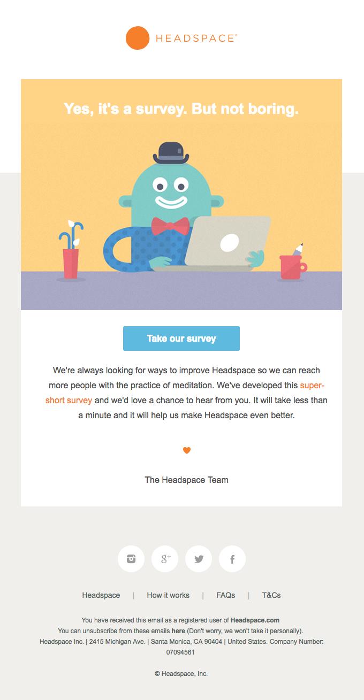 دریافت بازخورد از مزایای بازاریابی ایمیلی است