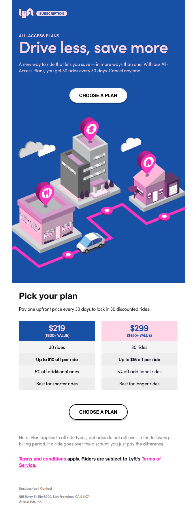 All-Access Plans: A new way to ride
