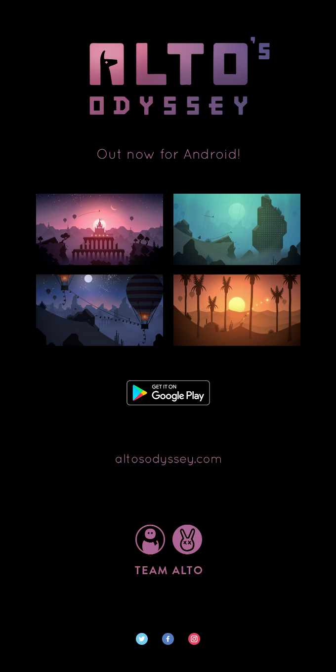 Alto's Odyssey – Download Free on Google Play Now