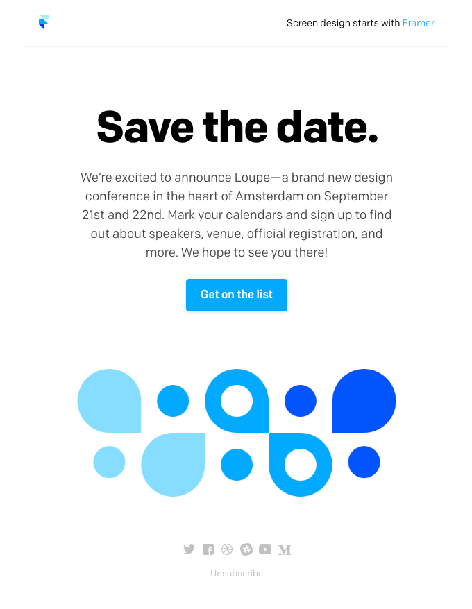 Announcing Loupe—a new design conference by Framer