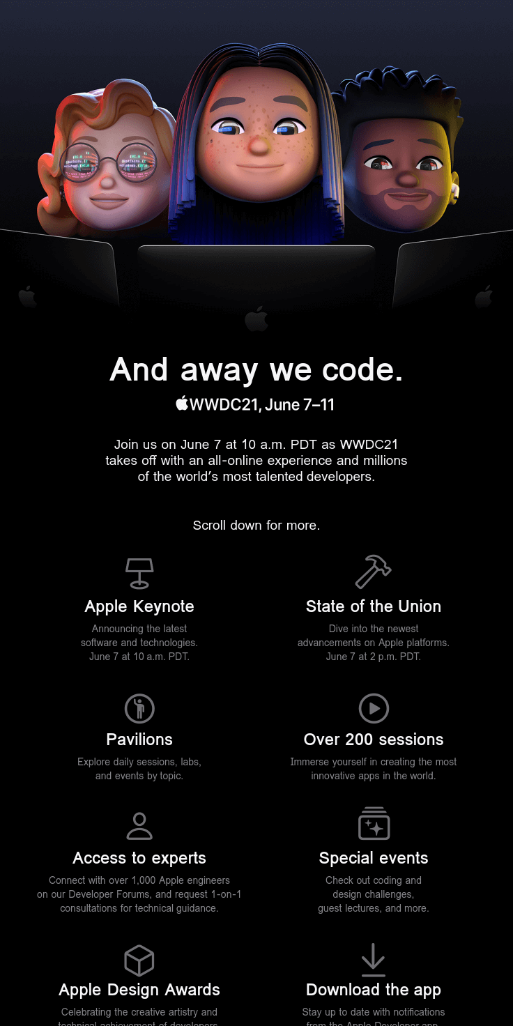 Apple Worldwide Developers Conference 2021
