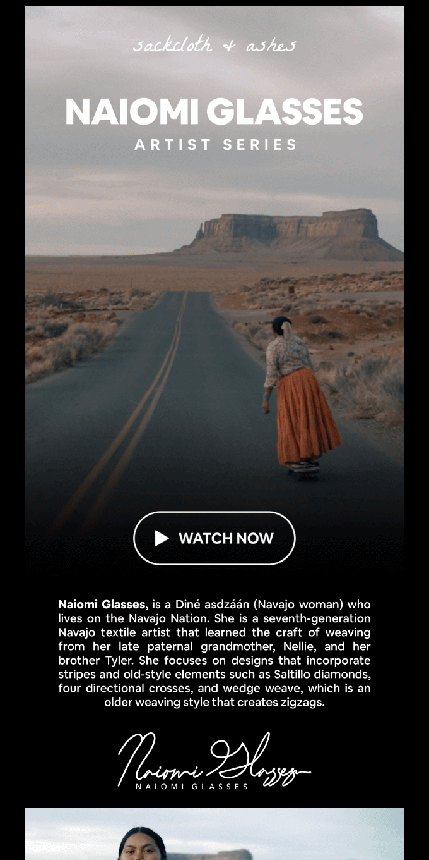 Artist Series |Naiomi Glasses Documentary