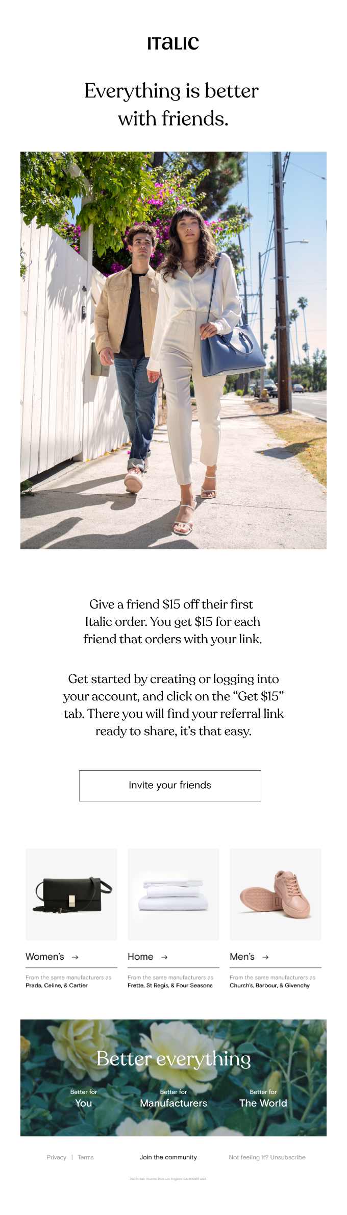 Be a good friend, get $15