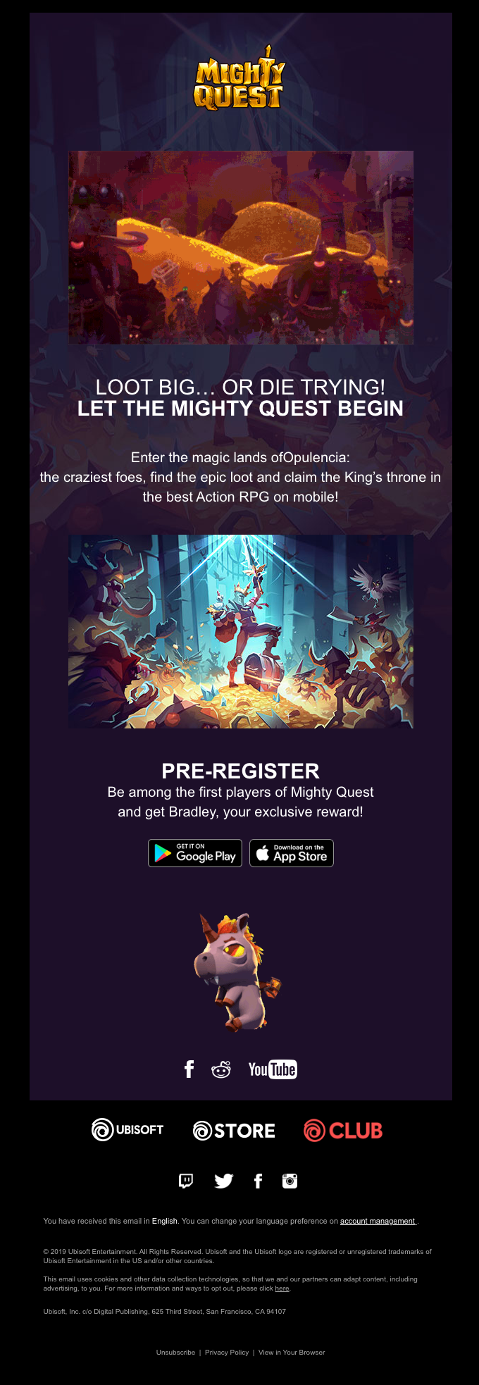 Be one of the first to play MIGHTY QUEST on mobile