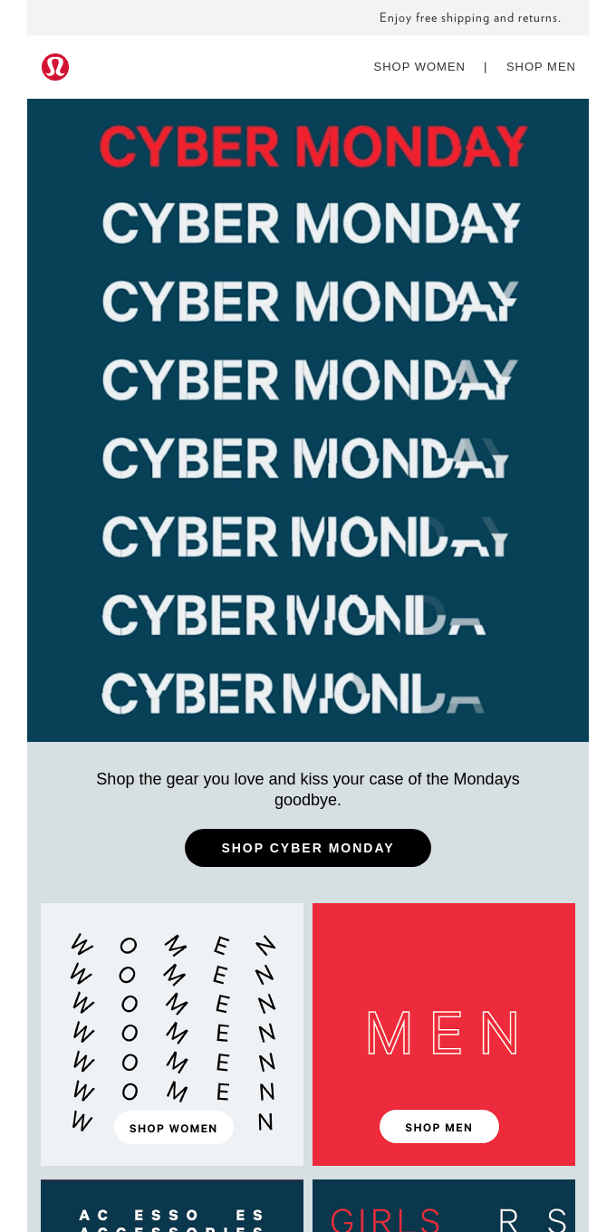 Best. (Cyber) Monday. Ever.