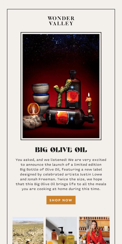 BIG OLIVE OIL