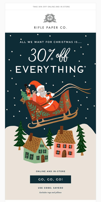 Black Friday: 30% Off Everything!
