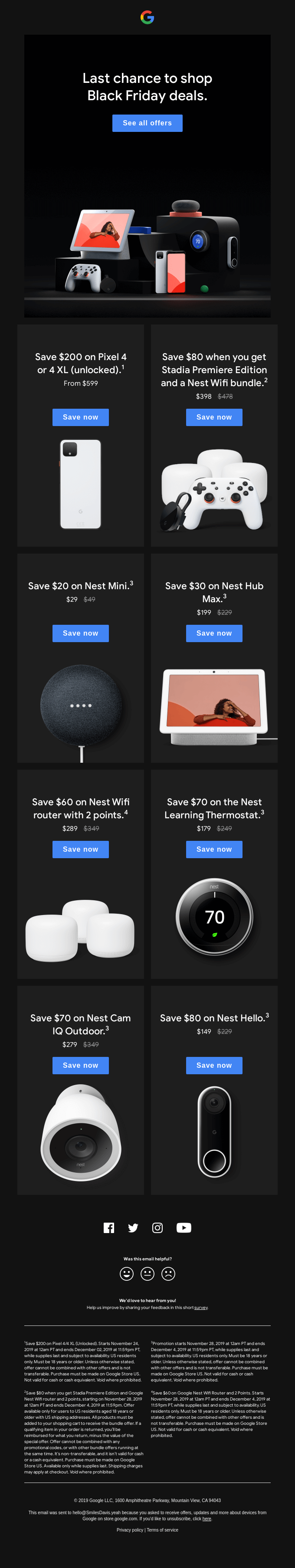 Black Friday deals are almost over.