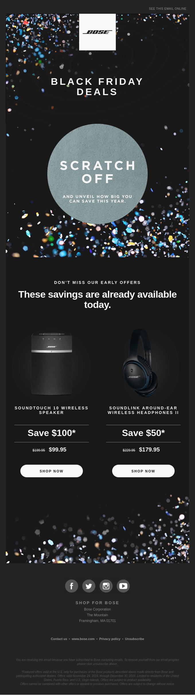 Black Friday offers are coming | Reveal your savings inside