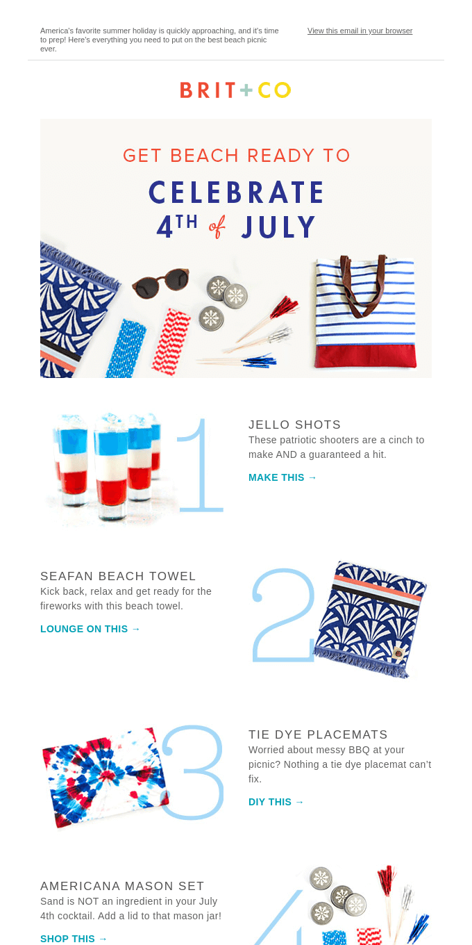 Break Out the Sparklers It's Time for a 4th of July Picnic