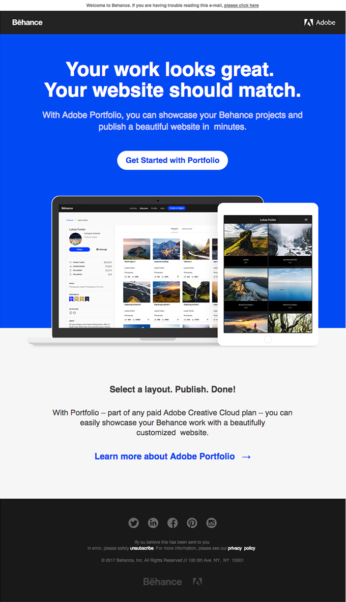 Build a Beautiful Portfolio in Minutes