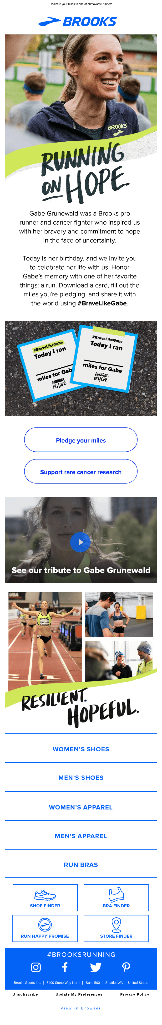 Celebrate Gabe Grunewald
