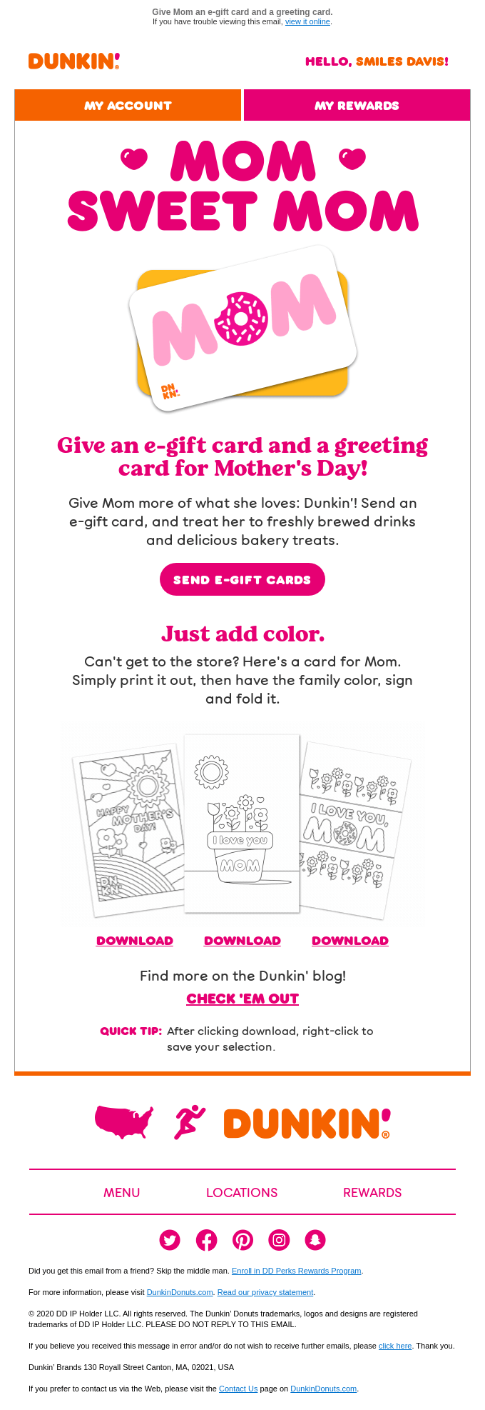 Celebrate Mother's Day 🎉 with twice the cards!