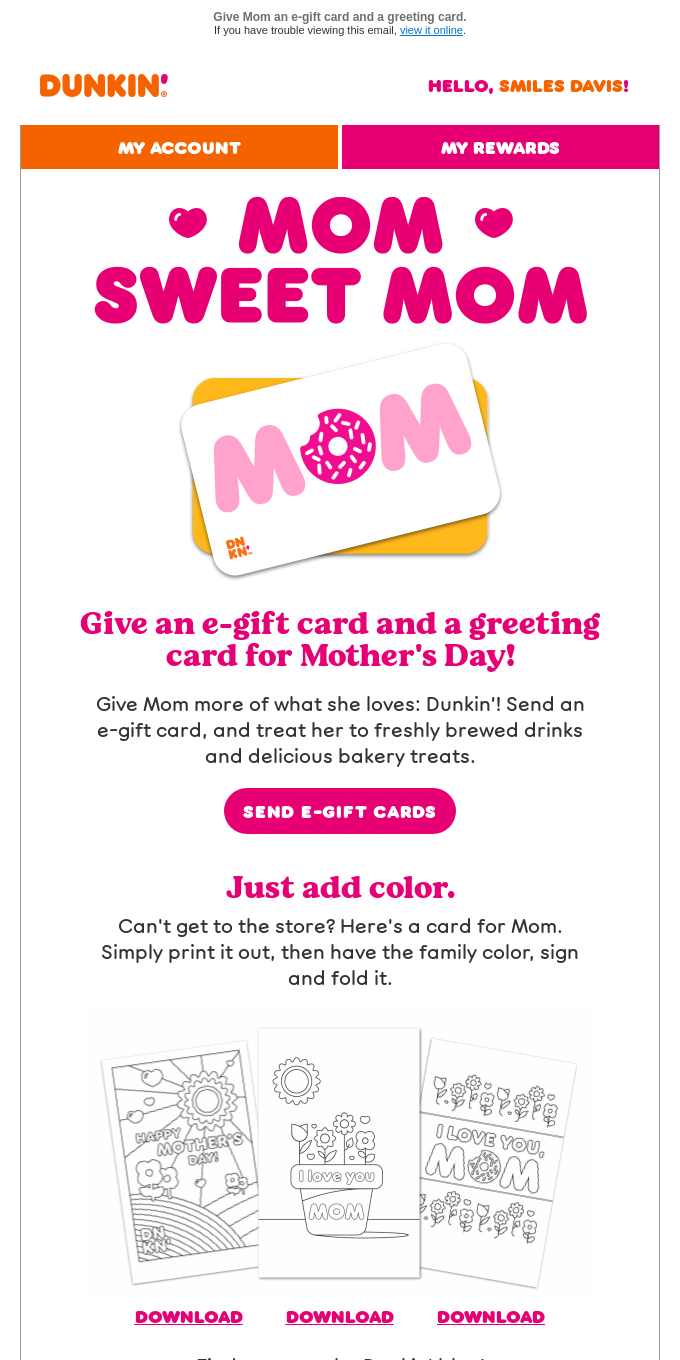 Celebrate Mother's Day🎉with twice the cards!
