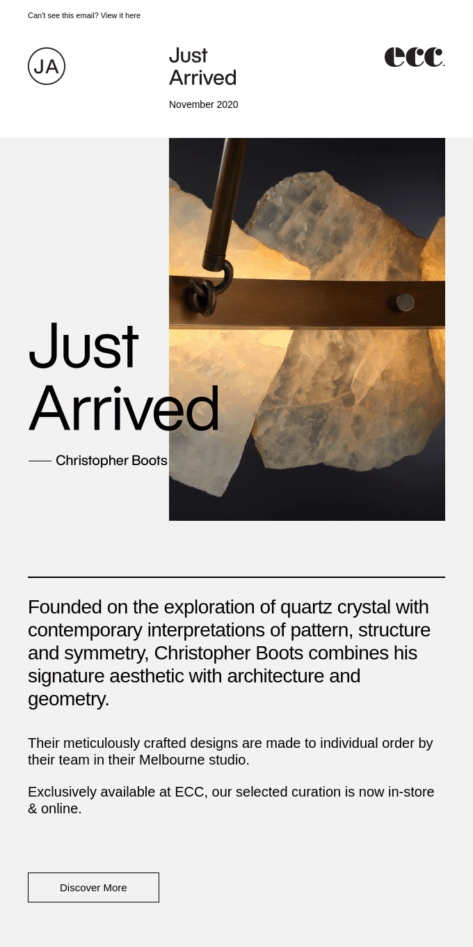 Christopher Boots - Just Arrived