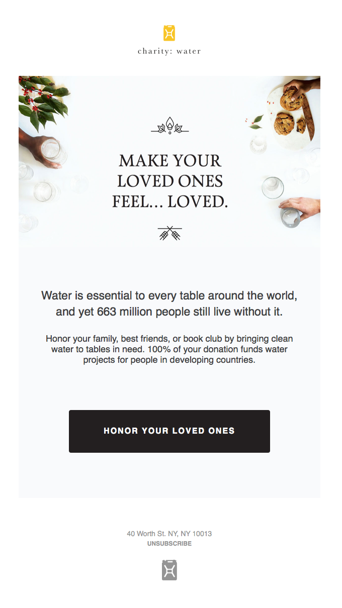 Clean water at every table