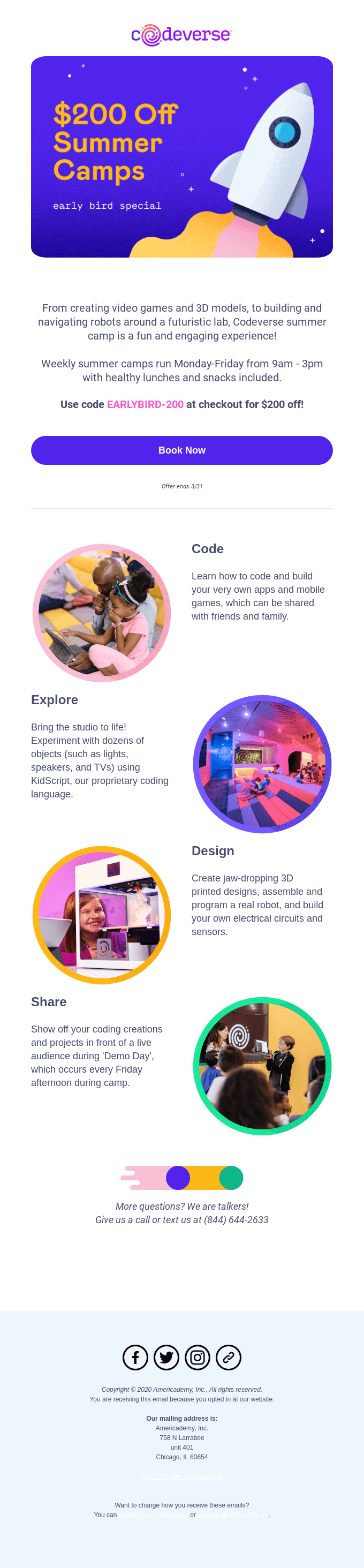 Codeverse Summer Camps 2020 are here!