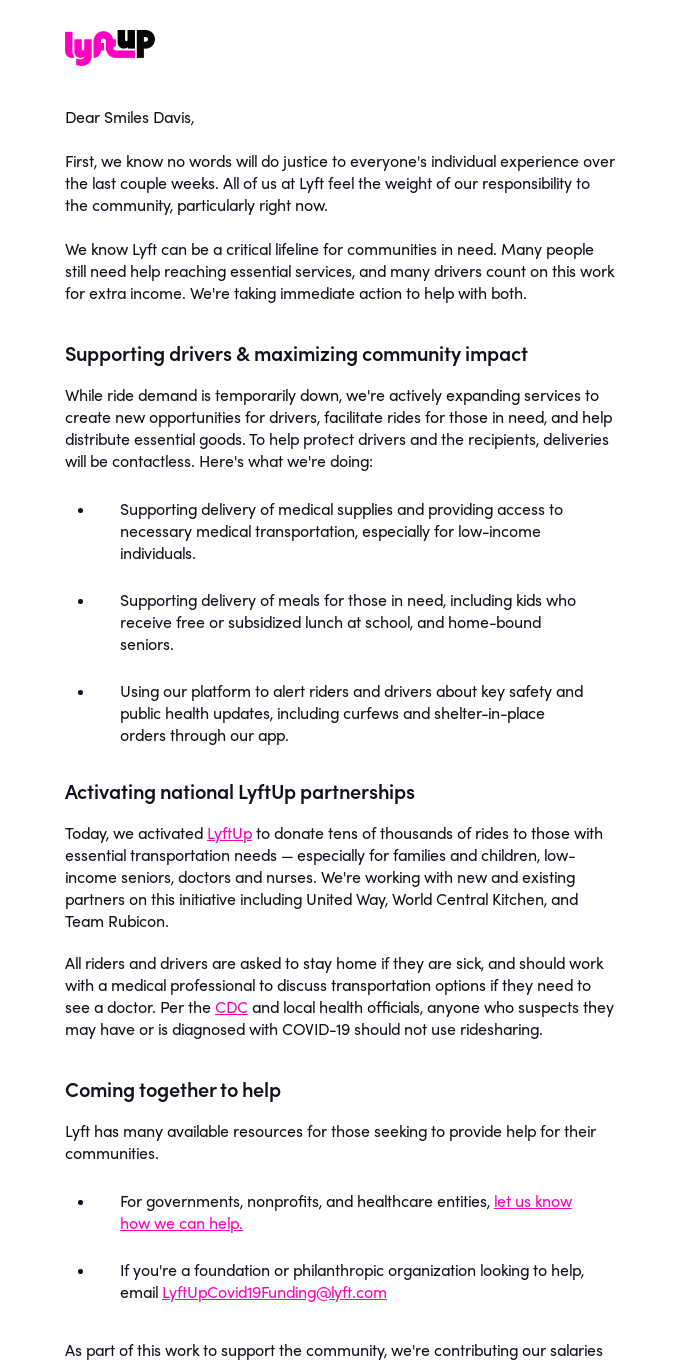 Community Update from our Co-Founders