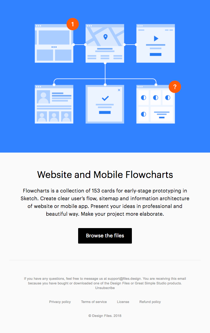 Create Beautiful Sitemaps and User Flows with the Flowcharts 💎