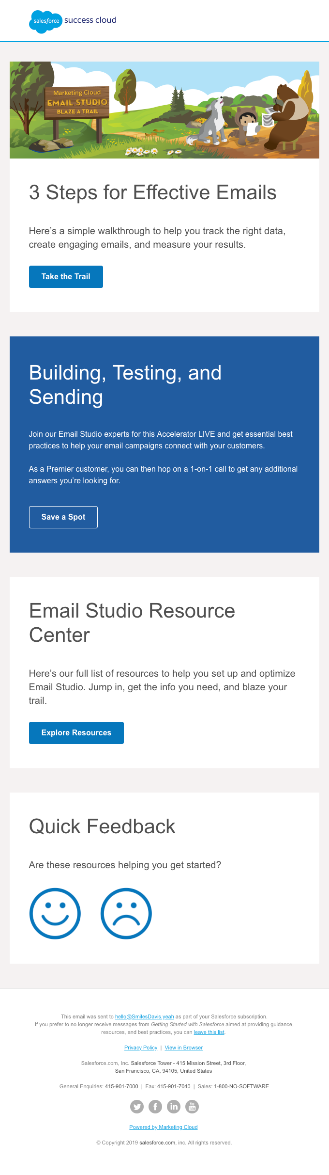 Create emails that motivate your customers with Email Studio.