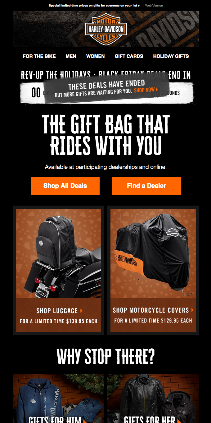 Day 2 of Deals: Luggage, Motorcycle Covers + more