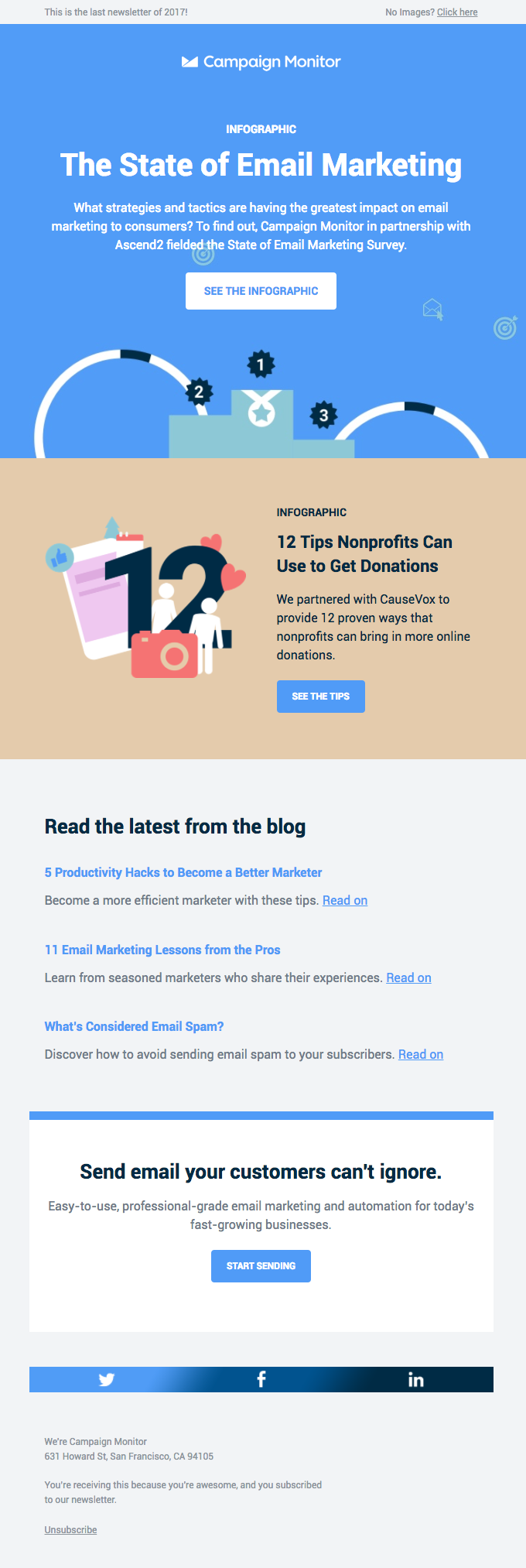 December News: The State of Email Marketing and Much More 🎉