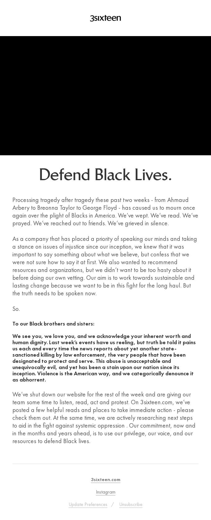 Defend Black Lives.