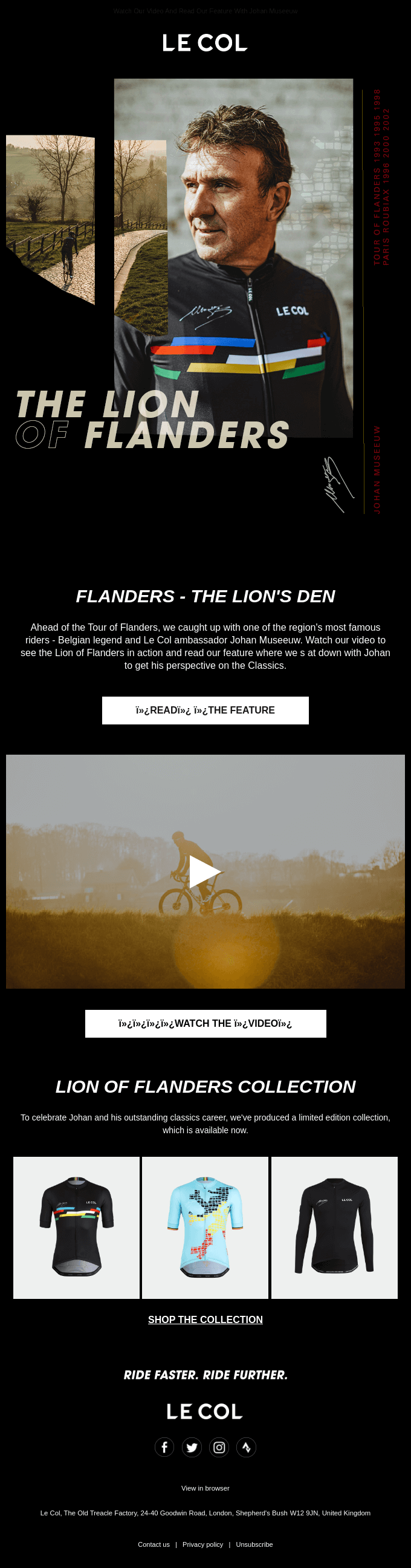 Discover Flanders Through Museeuw's Eyes