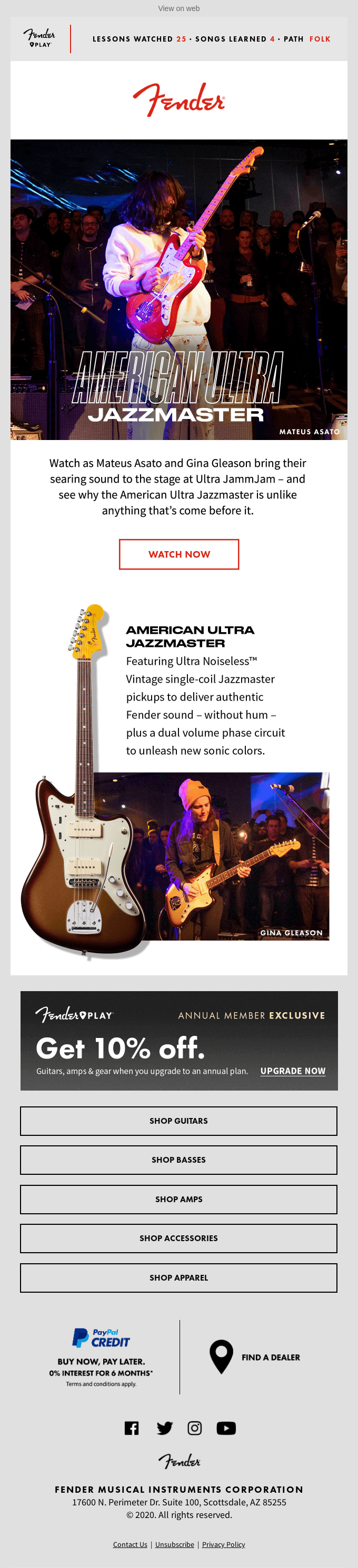 Discover the Ultra Jazzmaster