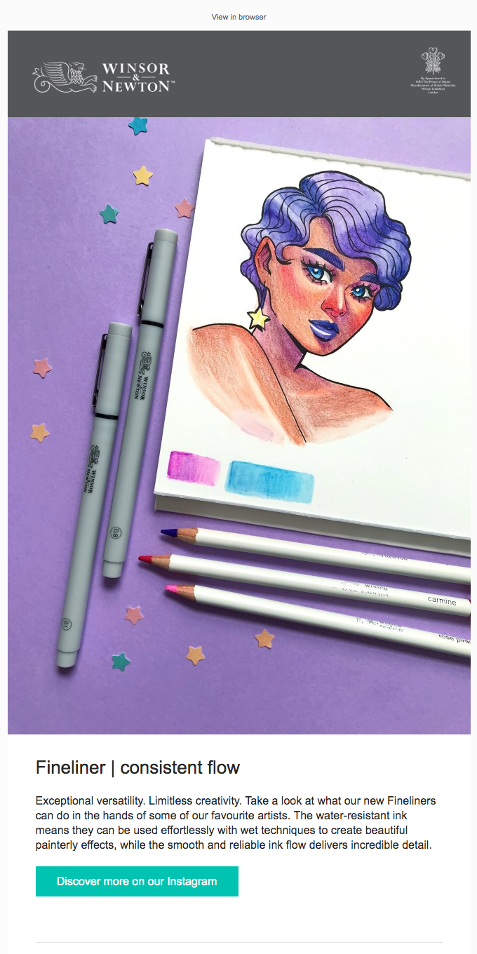 Discover what these artists have created with our Fineliners