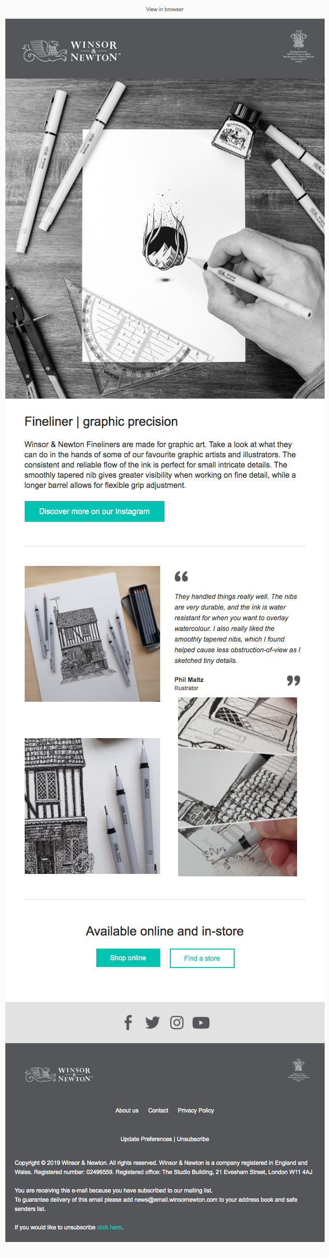 Discover what these illustrators have created with our Fineliners