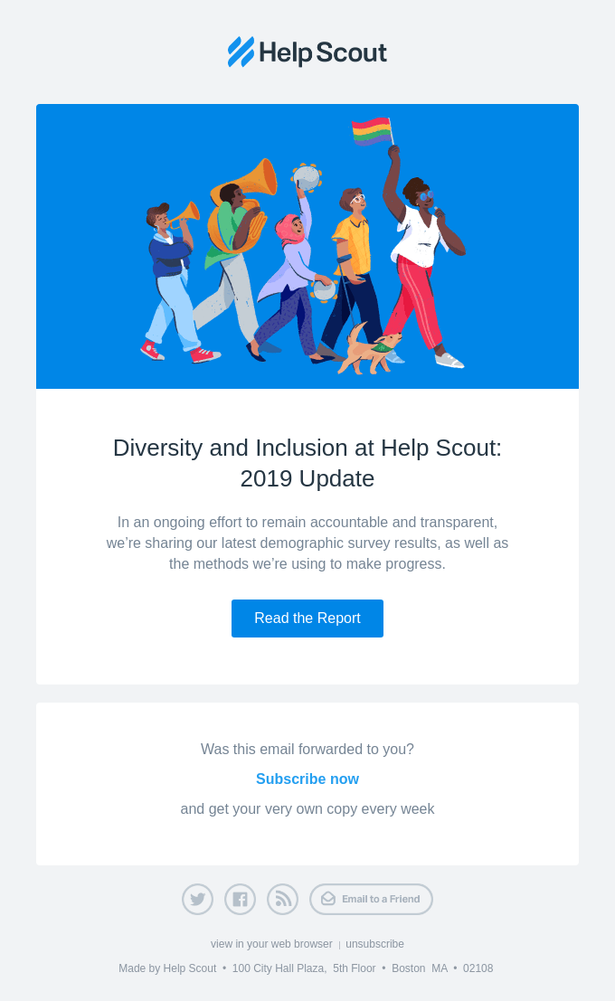 🌈Diversity & Inclusion: 2019 Update 🌈